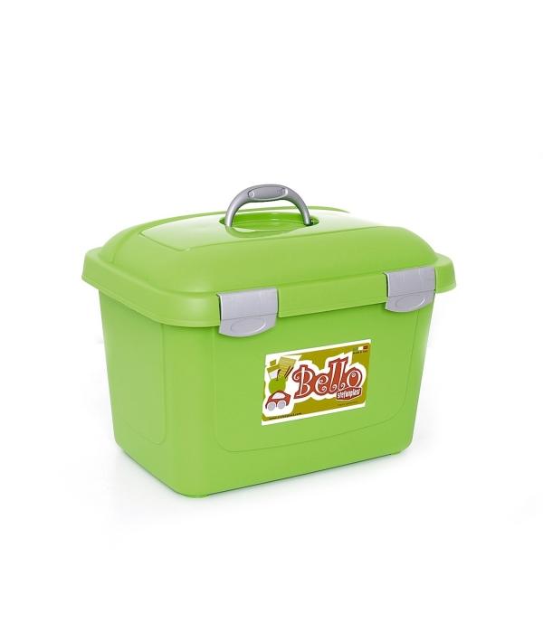 Контейнер Bello, 45х33х33, 26л, зеленый (71153)