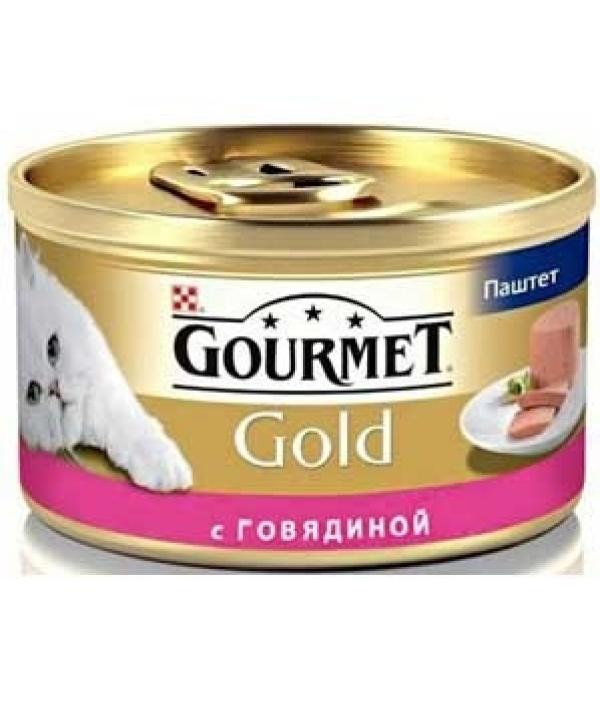Паштет из говядины для кошек (GOURMET GOLD) 12215249