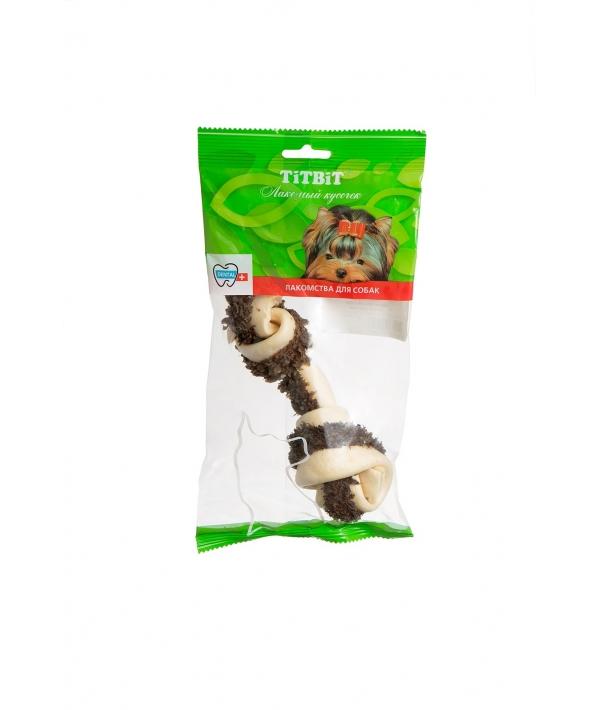 Кость узловая №5 с говяжьим рубцом, мягкая упаковка – 001646