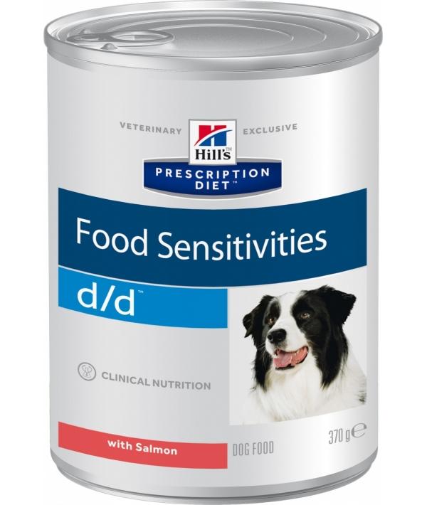 Консервы D/D с лососем для собак с пищевой аллергией (D/D Salmon & Rice) 8004U