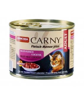 Консервы для кошек коктейль из разных сортов мяса д/кошек (Carny Adult) 83493/001/83702