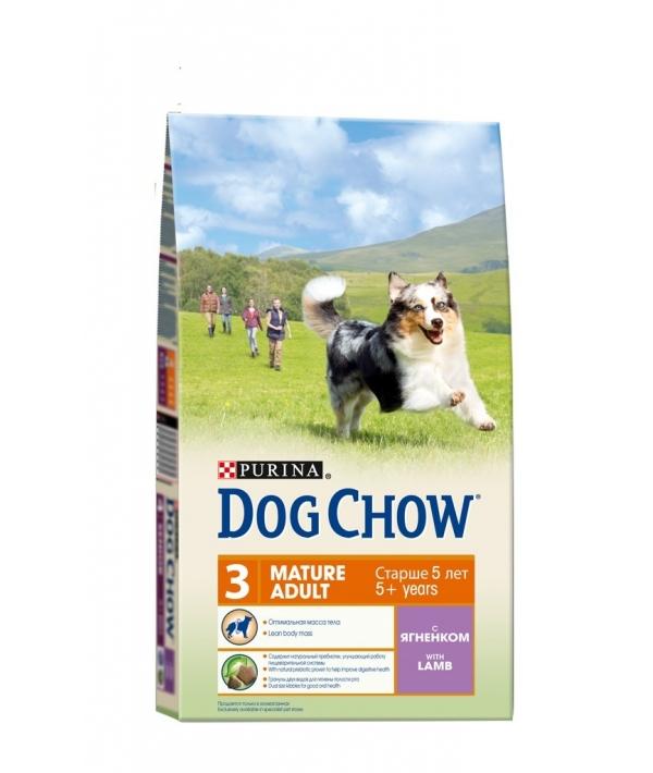 Для собак старшего возраста 6 – 8лет с ягненком (Mature) 12308781