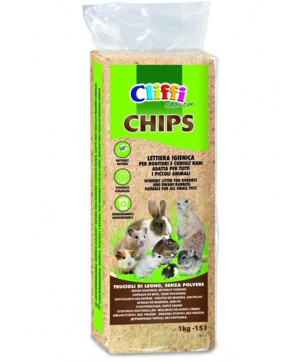 Опилки: 100% органик, 14л (Chips) ACRS009