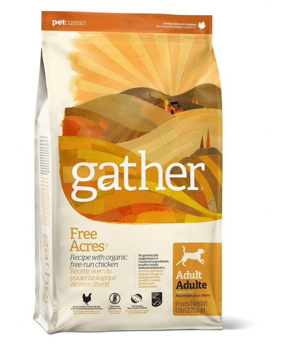 Органический корм для собак с курицей (GATHER Free Acres Chicken DF) 4301016