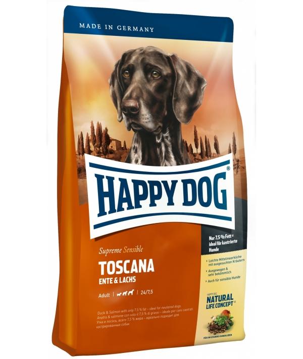 Тоскана: для чувств.собак: утка+ лосось (Toscana)