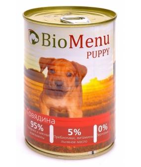 Консервы для щенков с говядиной (PUPPY) 45020