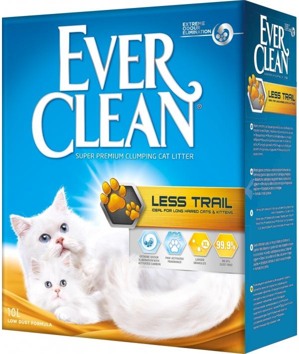 Комкующ. наполнитель для длинношерстных кошек (Less Track) – желтая полоса 007/330106
