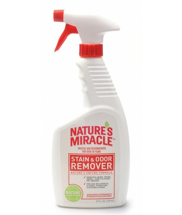 Спрей – Уничтожитель пятен и запахов для кошек (Stain&Odor Remover), enm5148