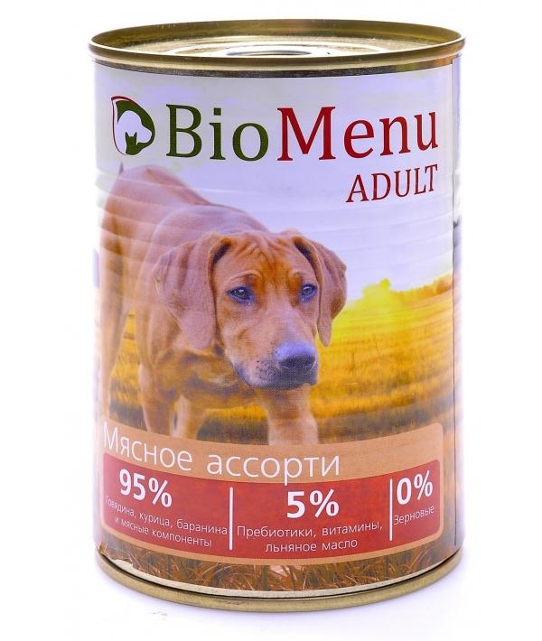 Консервы для собак Мясное ассорти (73919/29795)