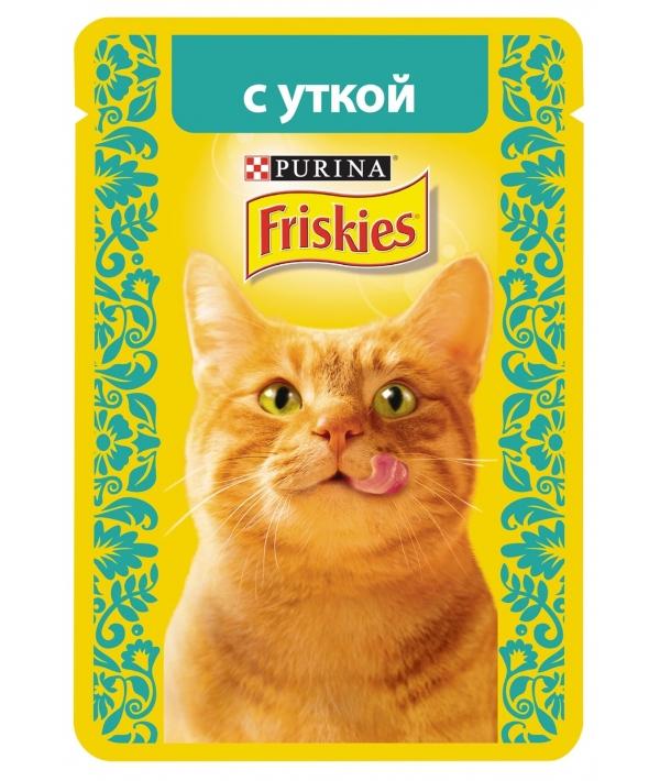 Кусочки в подливе с Уткой для кошек 12261815