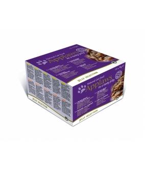 """Набор консервов """"Лакомые кусочки в желе"""" для Кошек: 12 шт.*70г (Jelly Selection) 1020CE – A.."""
