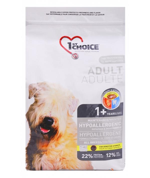 Для собак с картошкой и уткой (Adult Hypoallergenic)