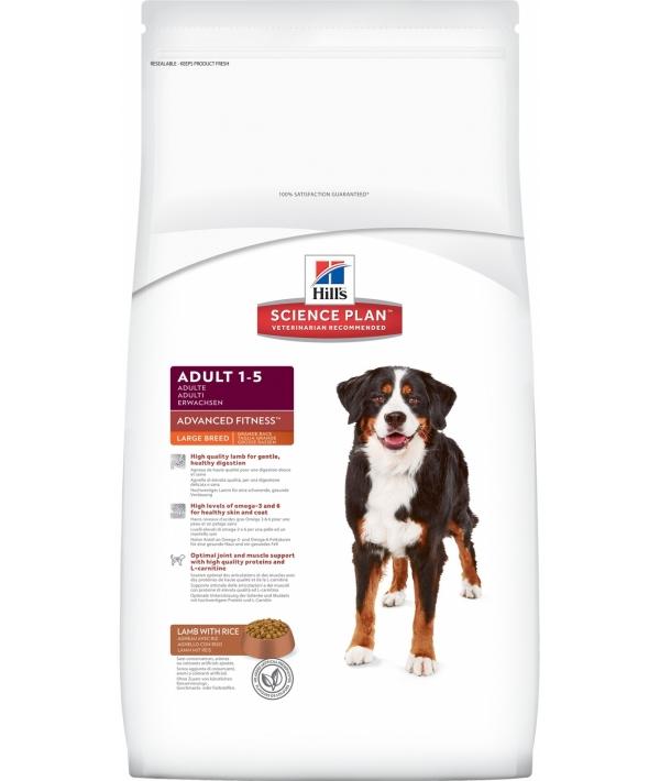 Для взрослых собак крупных пород с ягненком и рисом (Large Breed Lamb & Rice) 12 кг – 9271N