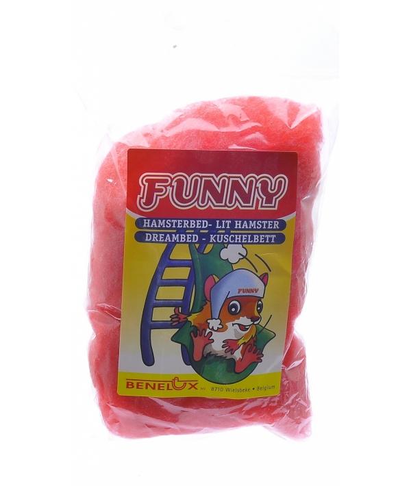 Кроватка для хомяков красная (Dreambed red funny) 3444