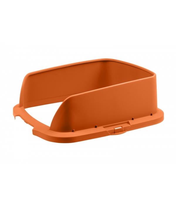 Высокие бортики для туалета Cateco оранжевые (CATECO® Extension Orange)