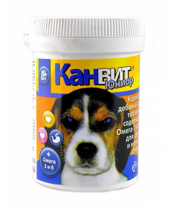 Витамины для щенков и молодых собак, таб. (Junior)