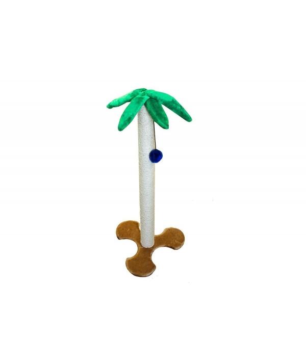 """Когтеточка """"Пальма"""" 1,14м, джут, основ. – 36,5*36,5см (8116д)"""