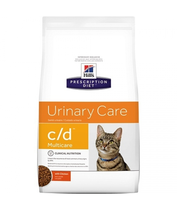 C/D для кошек – профилактика мочекамен. болезни (МКБ): курица 9185M