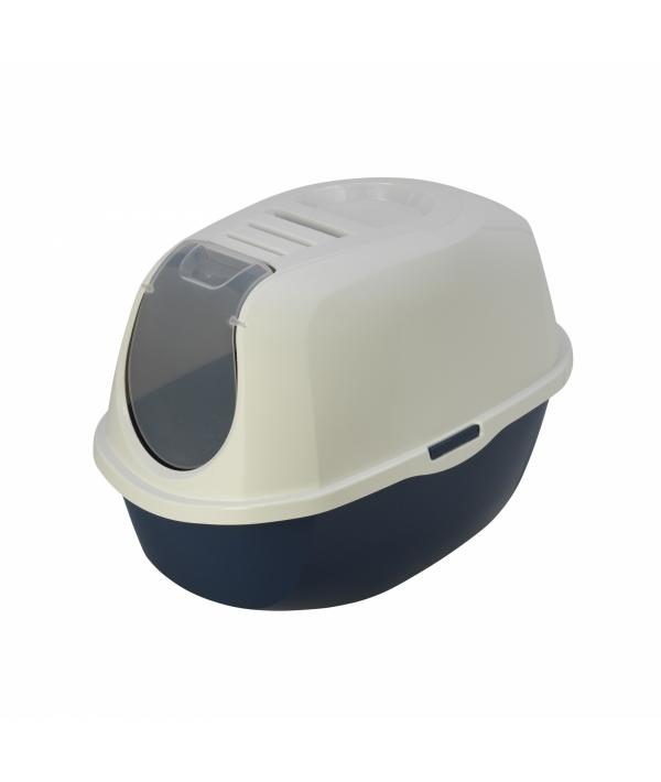 Туалет – домик Mega Smart с угольным фильтром, черничный, 66х46х49 (Mega smart) MOD – C380 – 331 – P5.