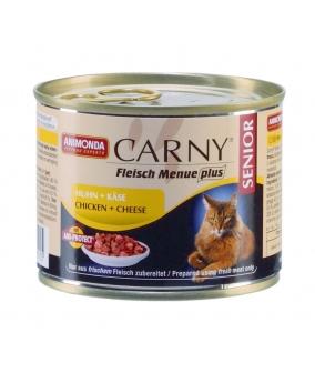 Консервы для кошек старше 7 лет с говядиной, курицей и сыром (Carny Senior)001/83501/001/83710