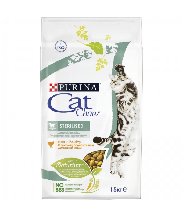 Для кастрированных кошек (Special Care – Sterilised) – 12267405