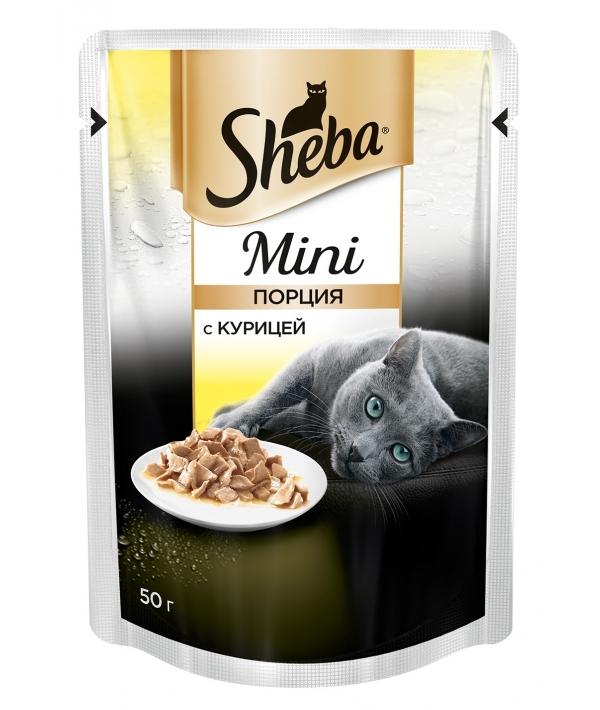 Паучи для кошек мини – порция с курицей 10170432