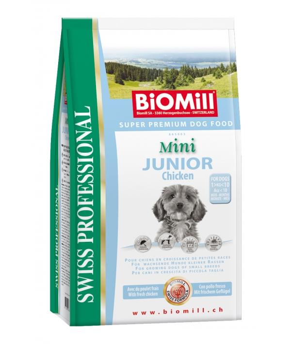Swiss Для щенков малых пород от 4 недель (Mini Junior/Chicken)(865003)