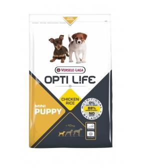 Для щенков малых пород с курицей (Opti Life Puppy Mini) 431156