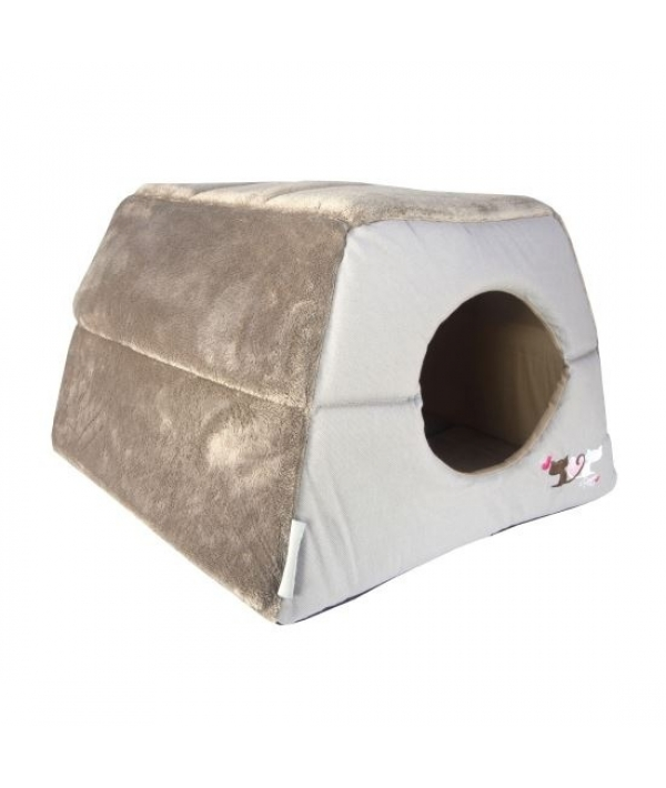 """Мягкий домик – трансформер """"Влюбленные котики"""" (41х41х30см) (CATZ IGLOO) CIP01"""