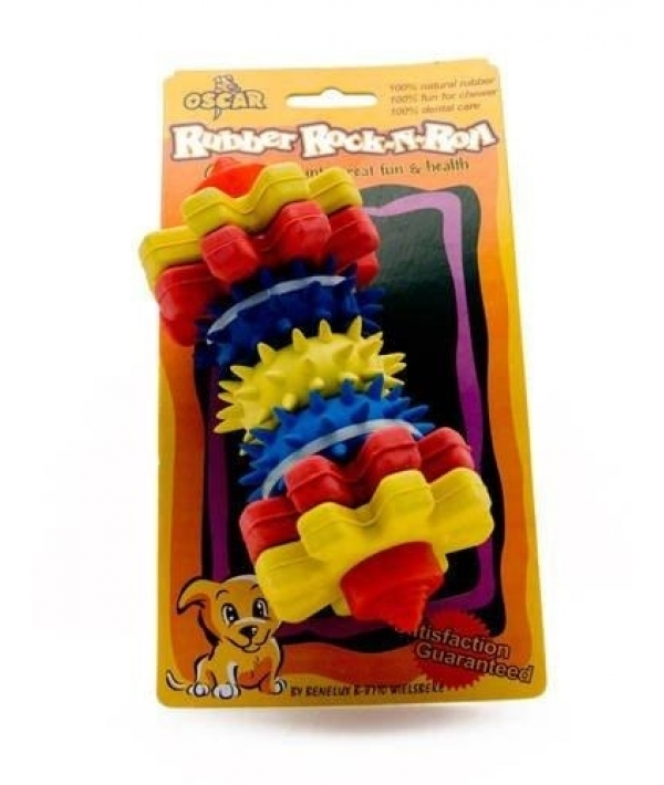 """Игрушка резиновая для собак """"Для чистки зубов №2"""" 23*13*3 см (52354)"""