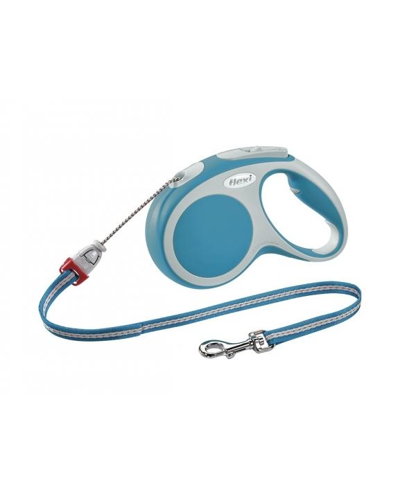 Рулетка – трос для собак до 12кг, 5м, бирюзовая (Vario S cord 5m turqouise)
