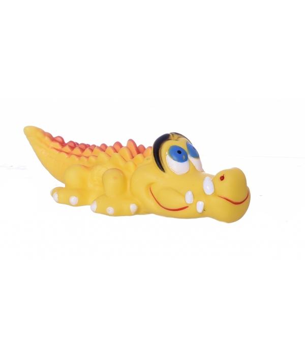 """Игрушка виниловая для собак Pet Jam """"Крокодил малый"""" 15 см (168320)"""