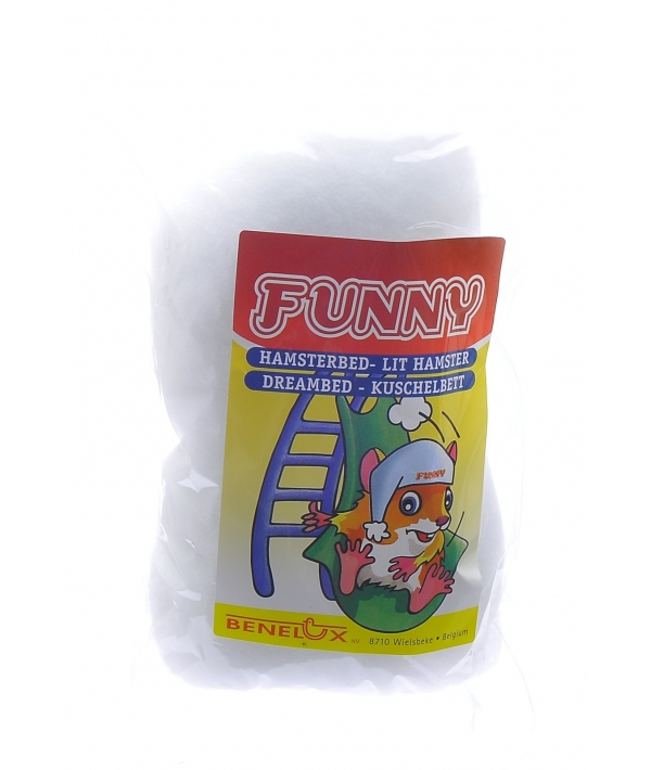 Кроватка для хомяков белая (Dreambed white funny) 3440..