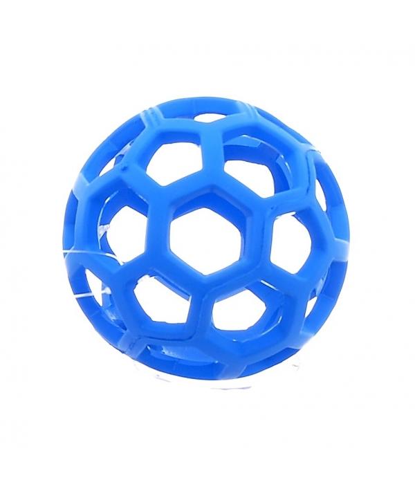 Ажурный резиновый мяч малый, 9 см ..