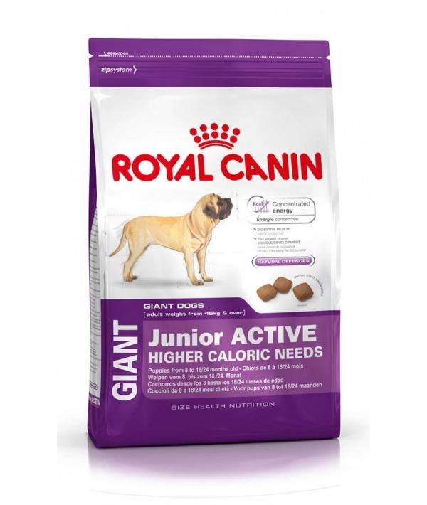 Для энергичных щенков гигантских пород: 8–18 мес. (Giant Junior Active) 198150