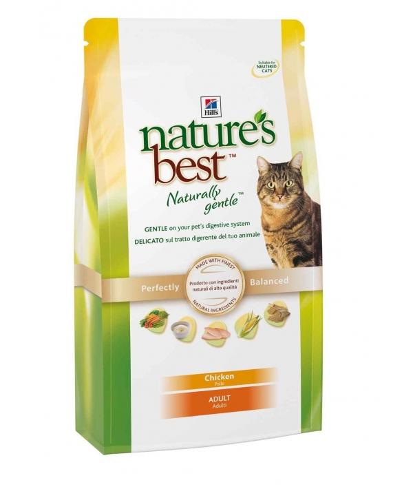 Nature's Best для взрослых кошек с курицей, рисом и овощами (Adult Chicken) 5266DR