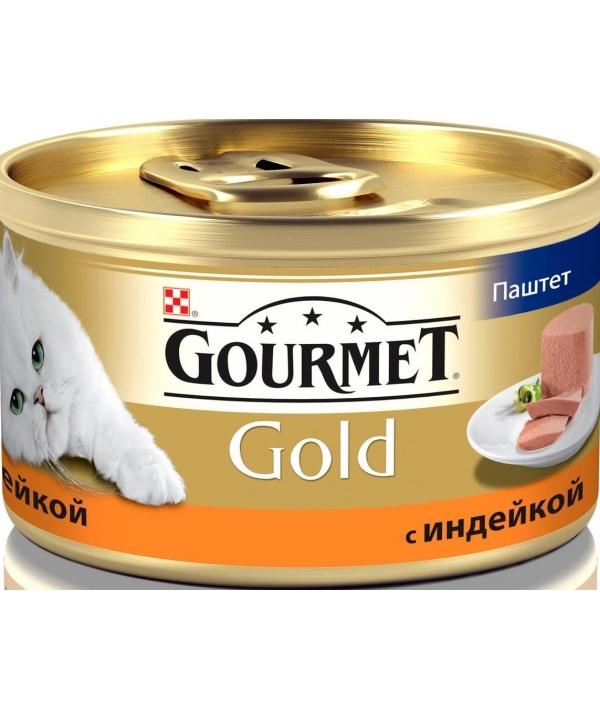 Паштет Gourmet Gold с индейкой для кошек – 12032392/12318118/12032392