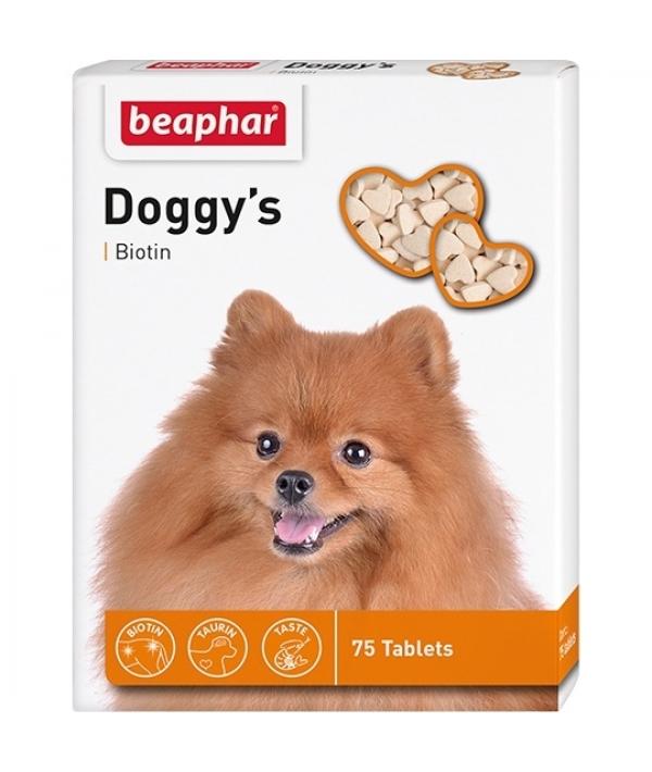 Витамины для собак с биотином (Doggy`s+Biotin), 75шт. (12507)