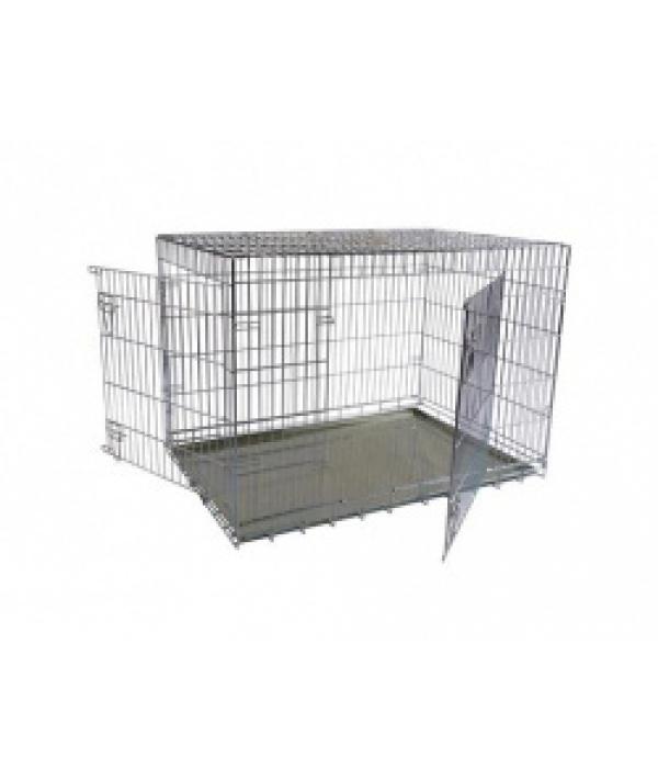 Клетка металлическая с 2 дверками, 87*58*67см (Wire cage 2 doors) 150287