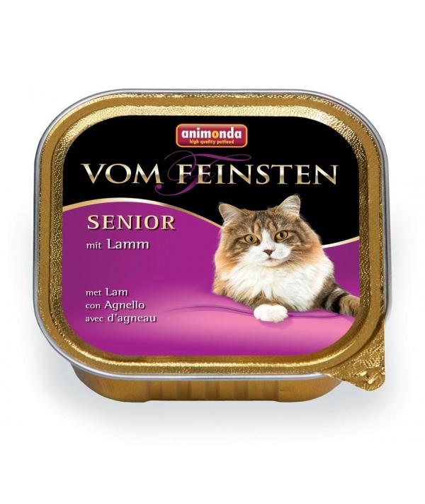 Консервы для кошек старше7 лет ягненком (Vom Feinsten Senior) 001/83237