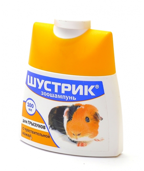 Шампунь Шустрик для грызунов с чувствительной кожей АВ235