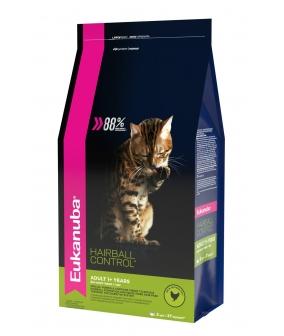 Для взрослых кошек редко выходящих на улицу с курицей, вывода шерсти (Adult Hairball Control) 10144105