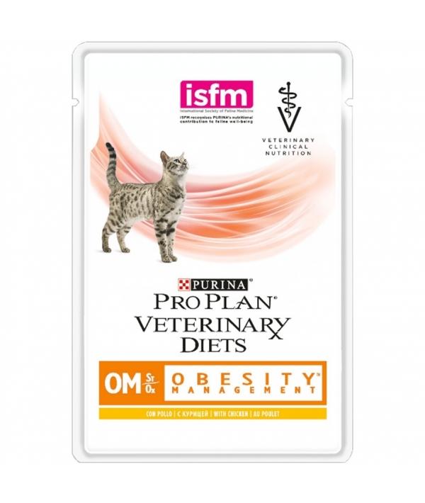 Кусочки в соусе для кошек лечение ожирения (OM) 12308819