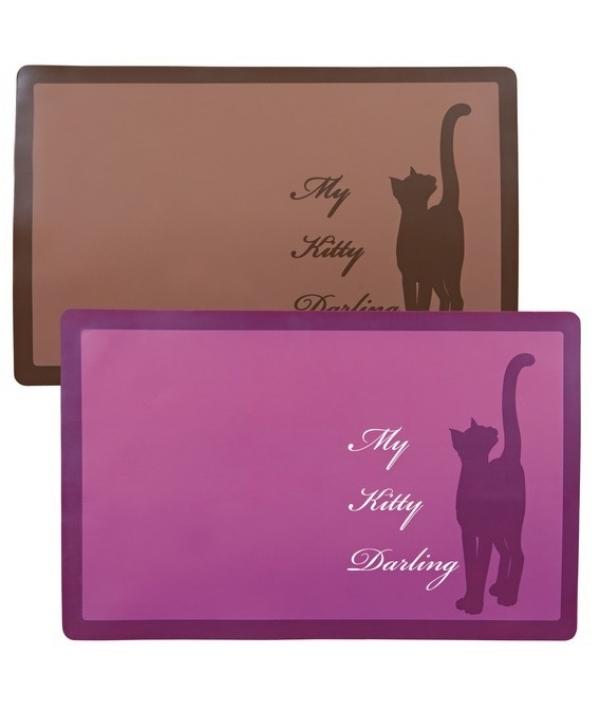 """Коврик под миску """"My Kitty Darling"""", 44х28 см. 24473"""