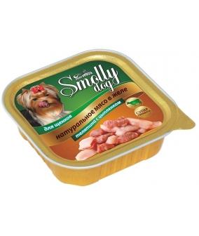 """Консервы для щенков """"Smolly dog"""" Телятина с цыпленком (8757)"""