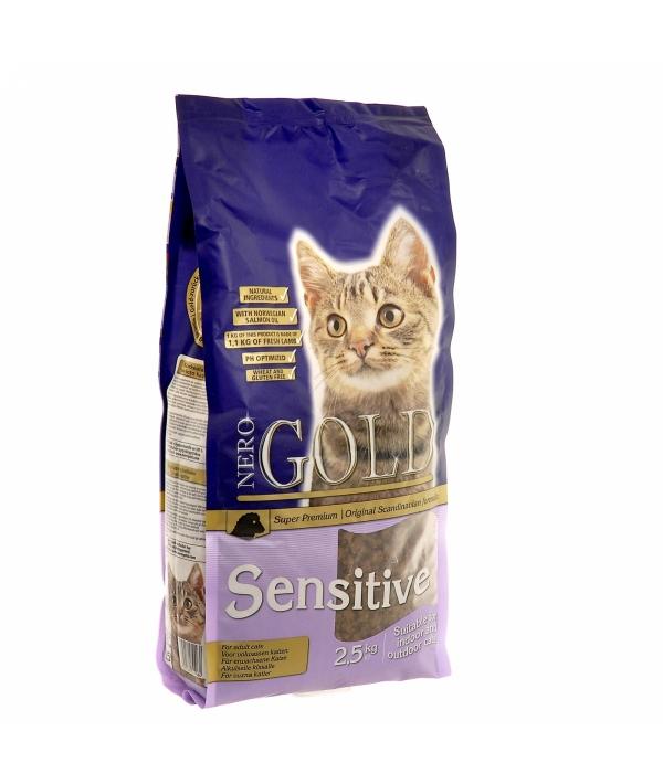Для Кошек с чувствительным пищеварением: Ягненок (Cat Adult Sensitive)