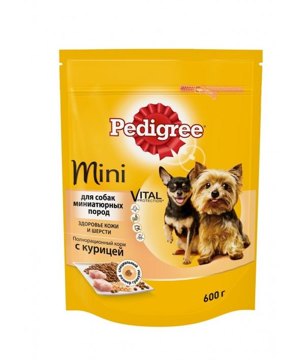 Сухой корм для собак мини пород с курицей 10135486