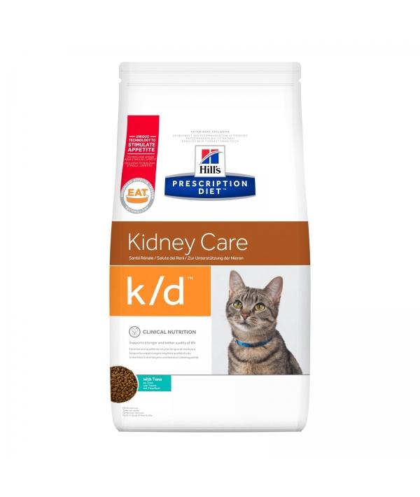 k/d для кошек лечение почек, сердца и нижнего отдел мочевывод.путей (тунец) 11142U