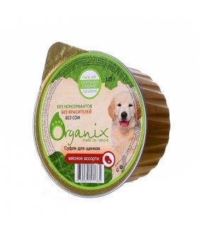 Суфле для щенков мясное ассорти