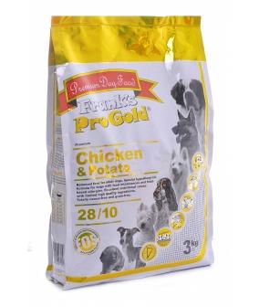 Для собак Беззерновой: с курицей и Молодым картофелем (Chicken&Potato 28/10)